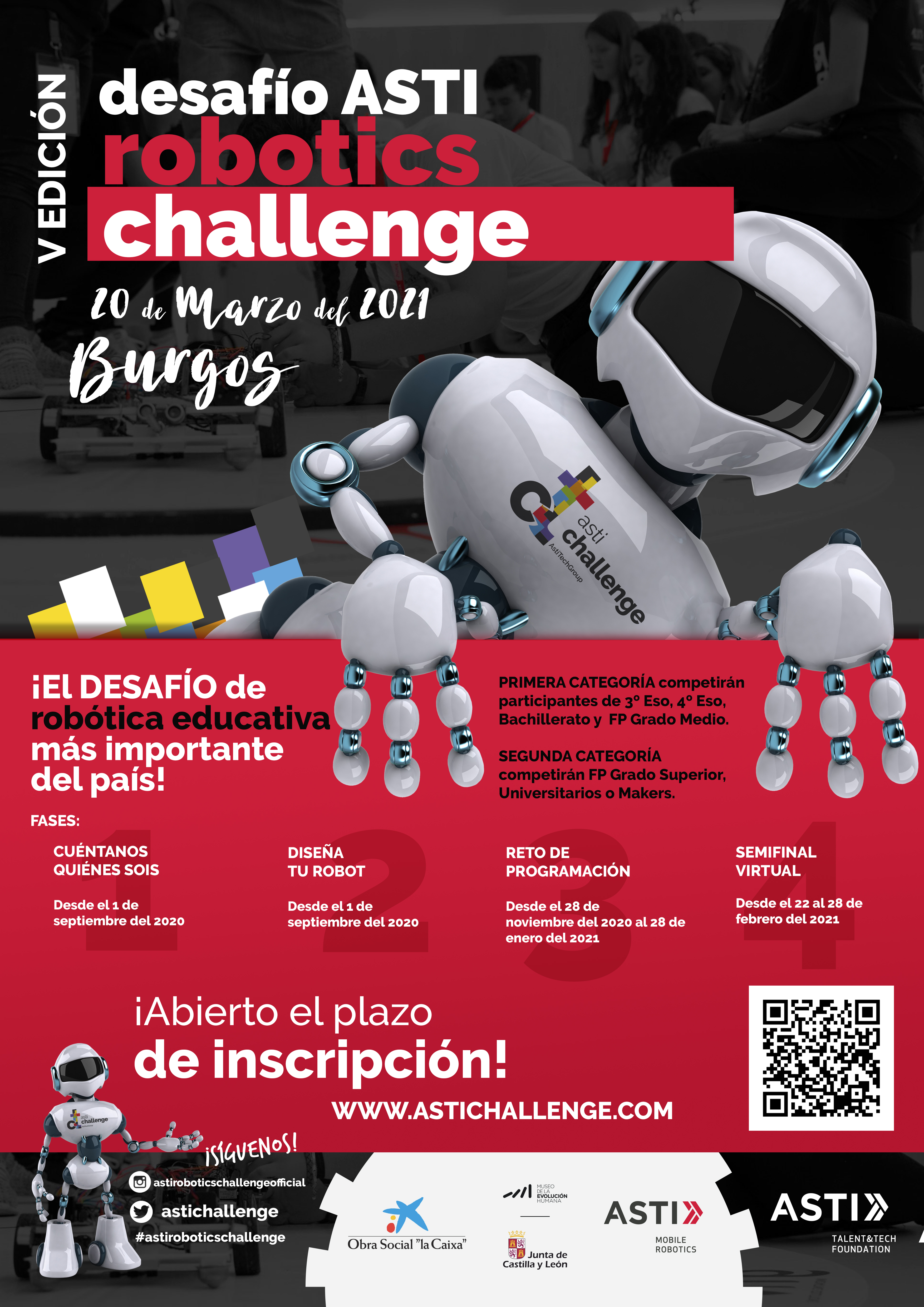 We're accepting applications for the new edition of ASTI Robotics Challenge