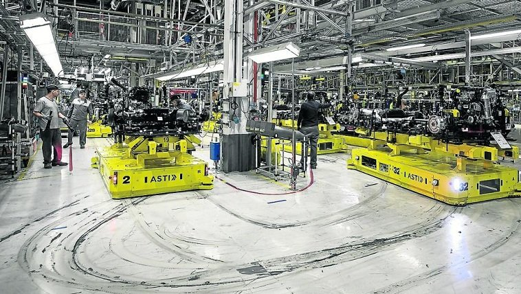 ASTI Mobile Robotics as a key player in Opel's Connected Industry 4.0